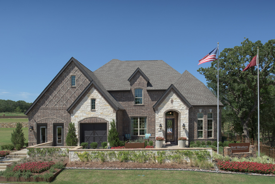 San Augustine Manor - Decorated Model - Canyon Falls - Toll Brothers in Knollwood - Flower Mound, TX - Denton County