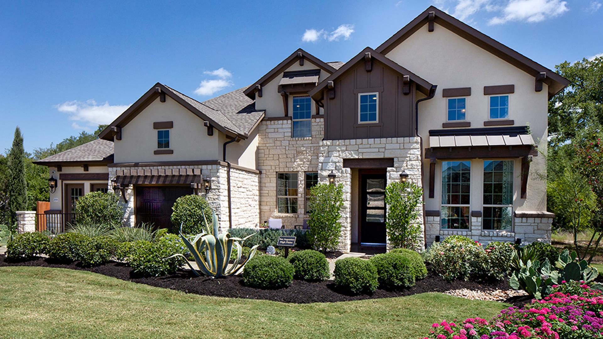 Sarita Valley - San Augustine High Plains Model Home  - Leander, TX - Williamson County