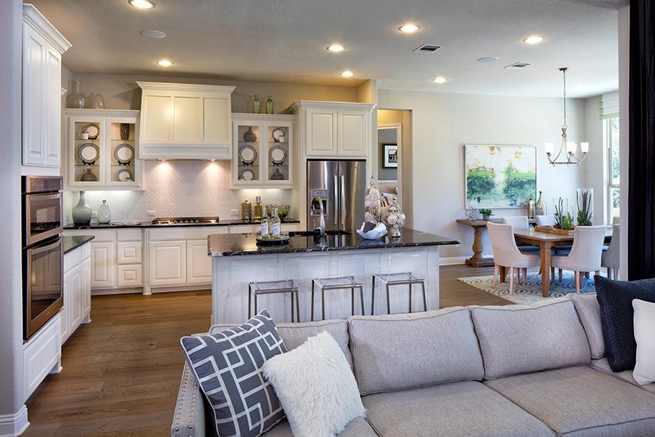 sarita valley san augustine model home leander tx williamson county - Model Home Interior Design