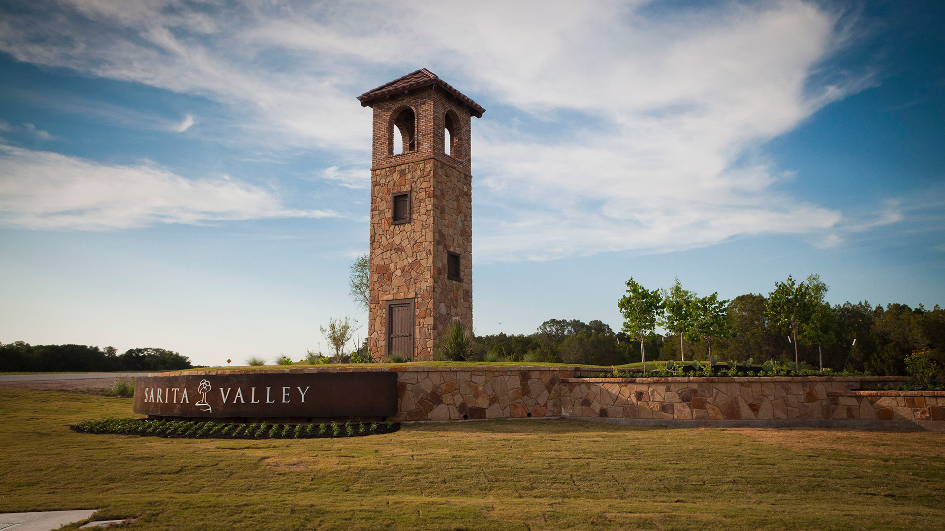 Sarita Valley – Main Entrance – Leander, TX – Williamson County