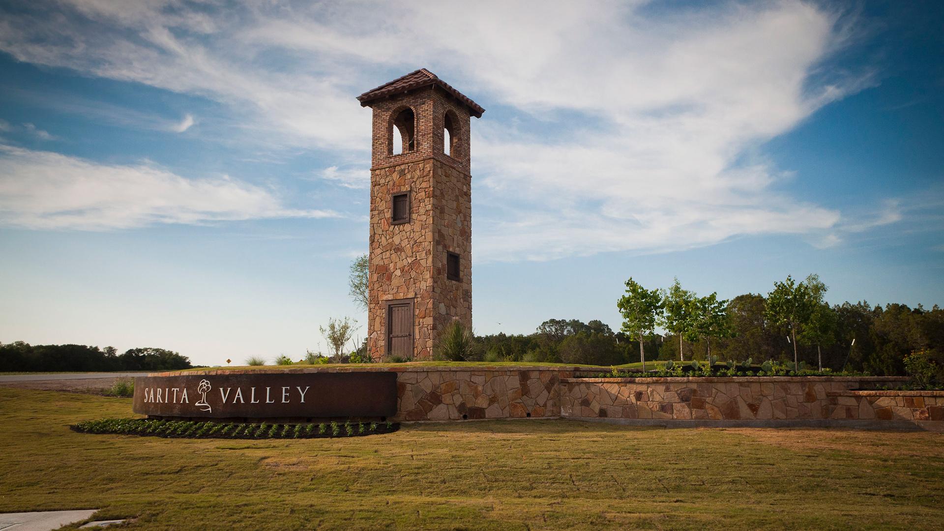 Sarita Valley – Main Entrance – Leander, TX – Williamson County