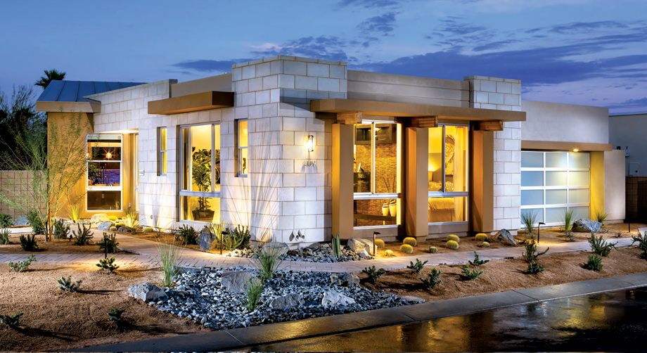 Palm springs ca new homes for sale toll brothers at escena for Modern model homes