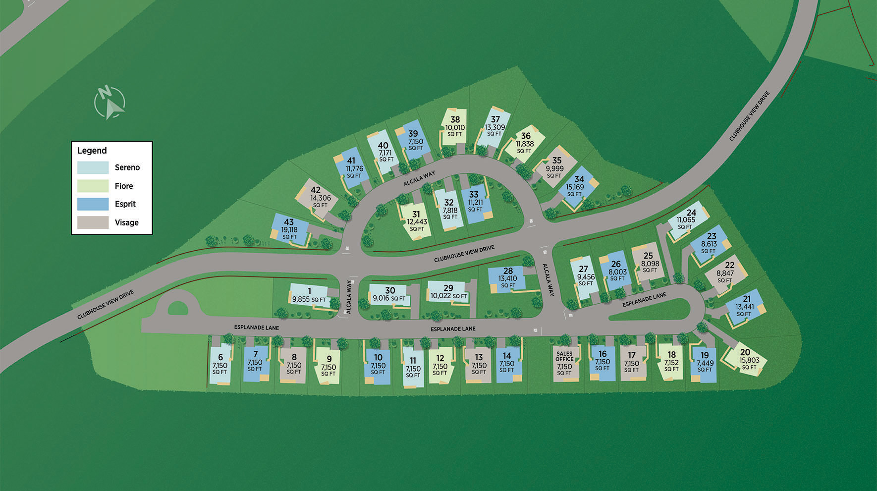 Toll Brothers at Escena Site Plan II