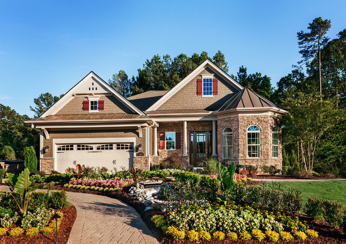 New homes in apex nc new construction homes toll brothers for Building a house in nc