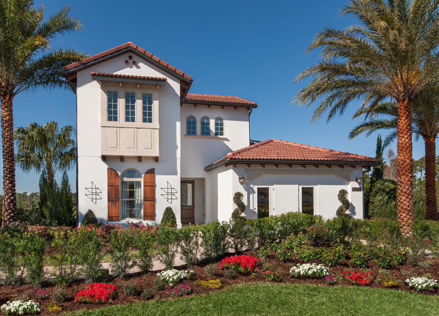 Royal Cypress Preserve Features New Home