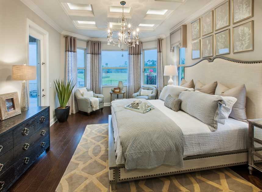 Luxury Master Suites orlando fl new homes for sale | royal cypress preserve