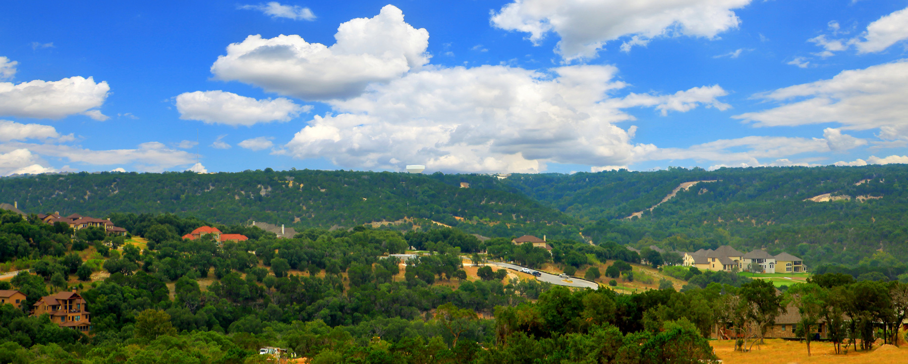 Stunning Hill Country views