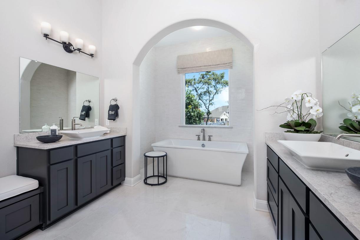 Spa-like Artisan primary bath