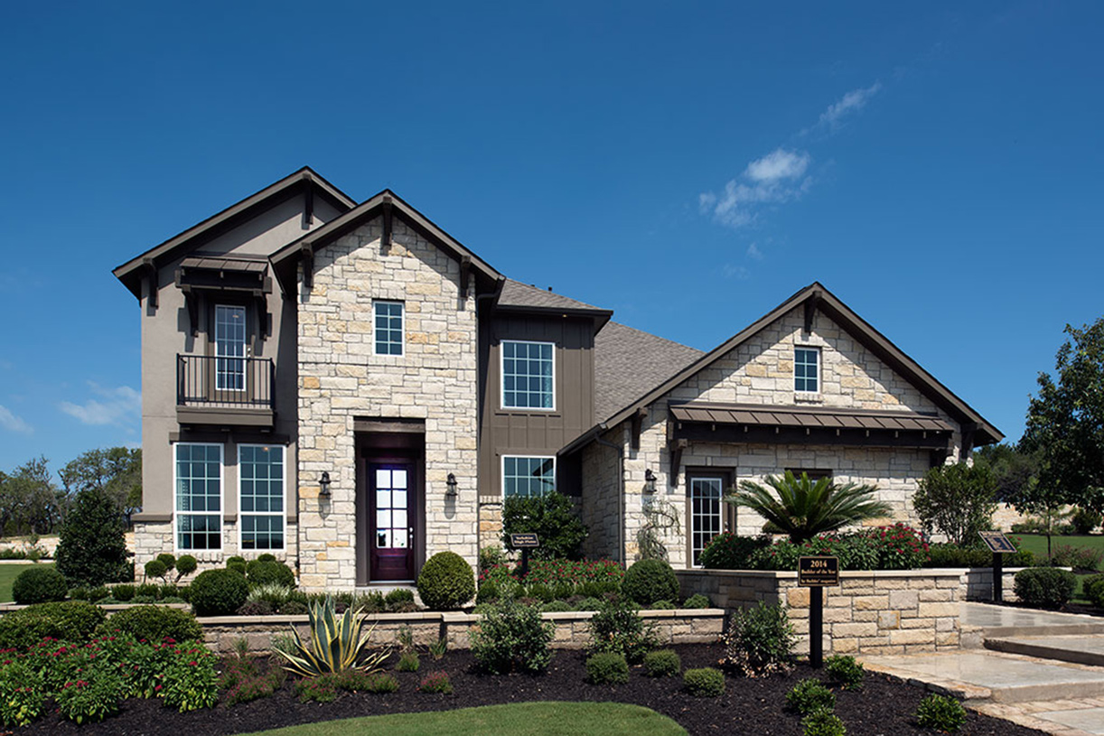 Yorkshire High Plains exterior with stone accents