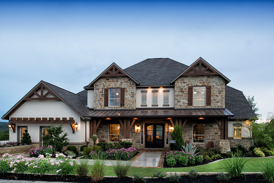 Hill country house plans luxury for Luxury country house plans