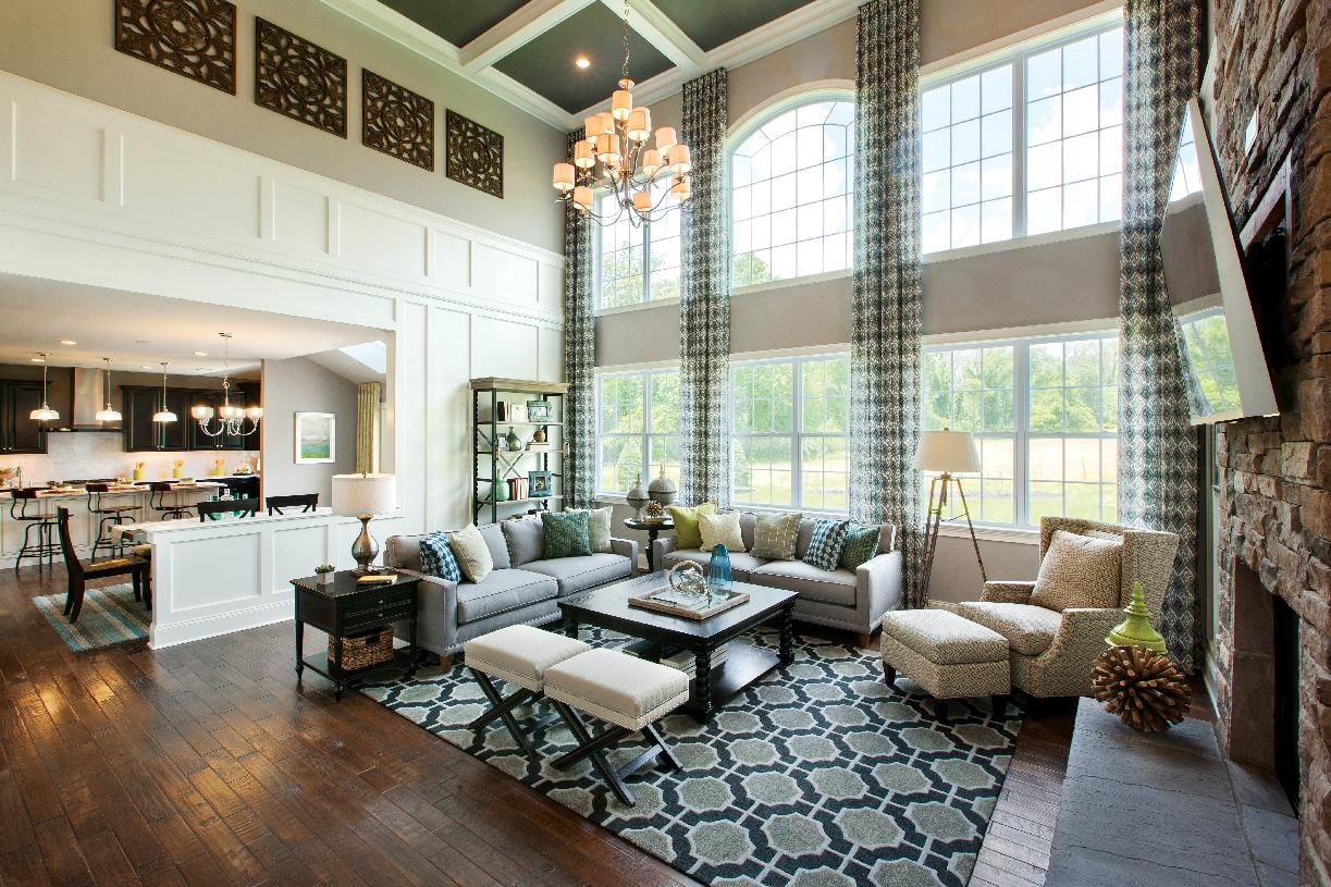 Stunning two-story great room option