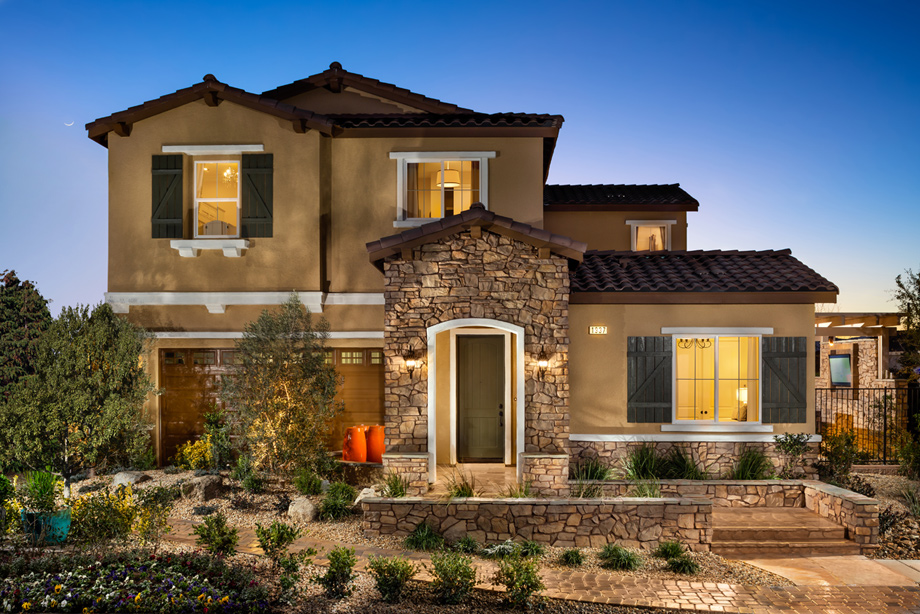 New Luxury Homes For Sale In Henderson Nv Toll Brothers At Inspirada Villamar