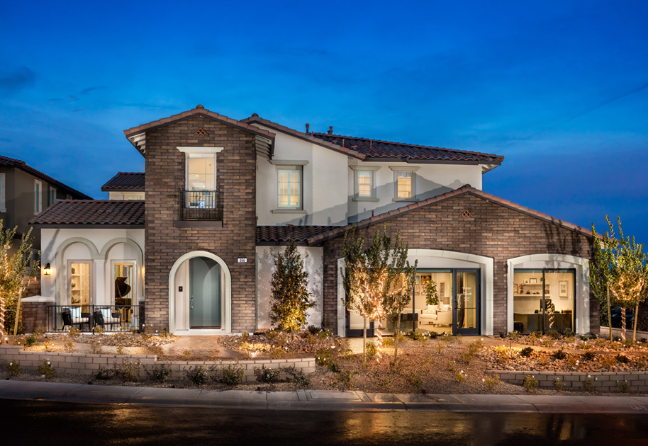 The Spanish Colonial. Las Vegas NV New Homes for Sale   Altura