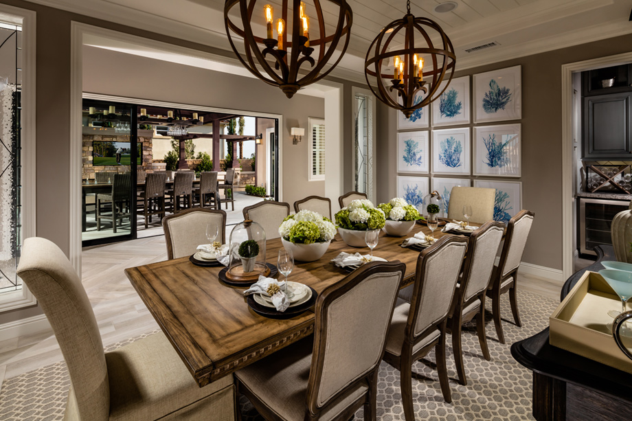 New luxury homes for sale in yorba linda ca estates at for Property brothers dining room designs