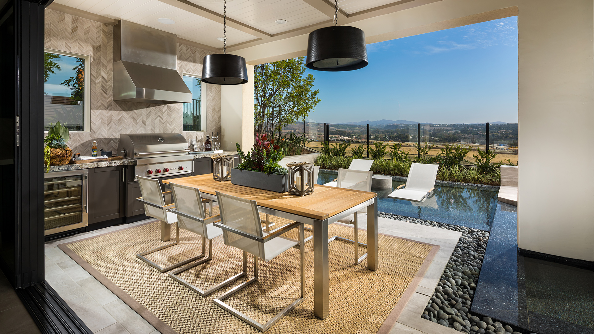 Carlsbad ca new homes for sale toll brothers at for Luxury outdoor living