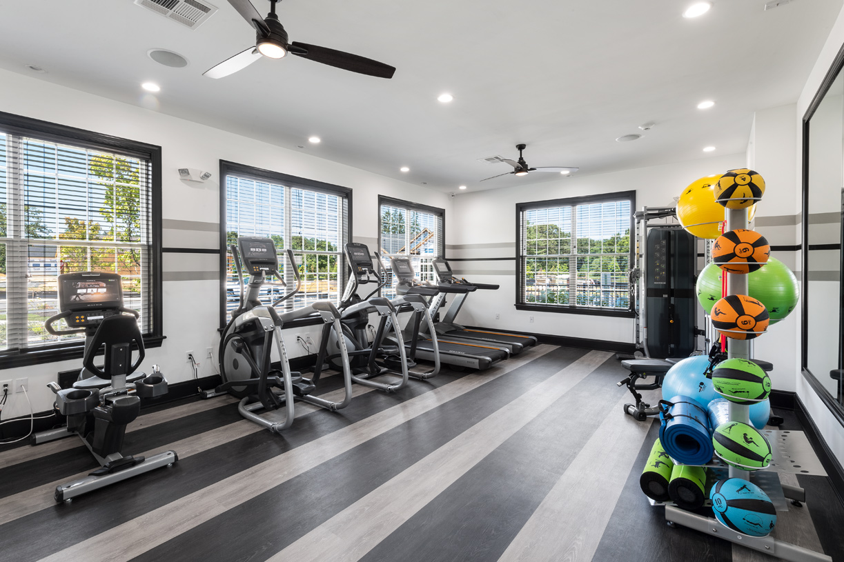 Work out in our state-of-the-art fitness center