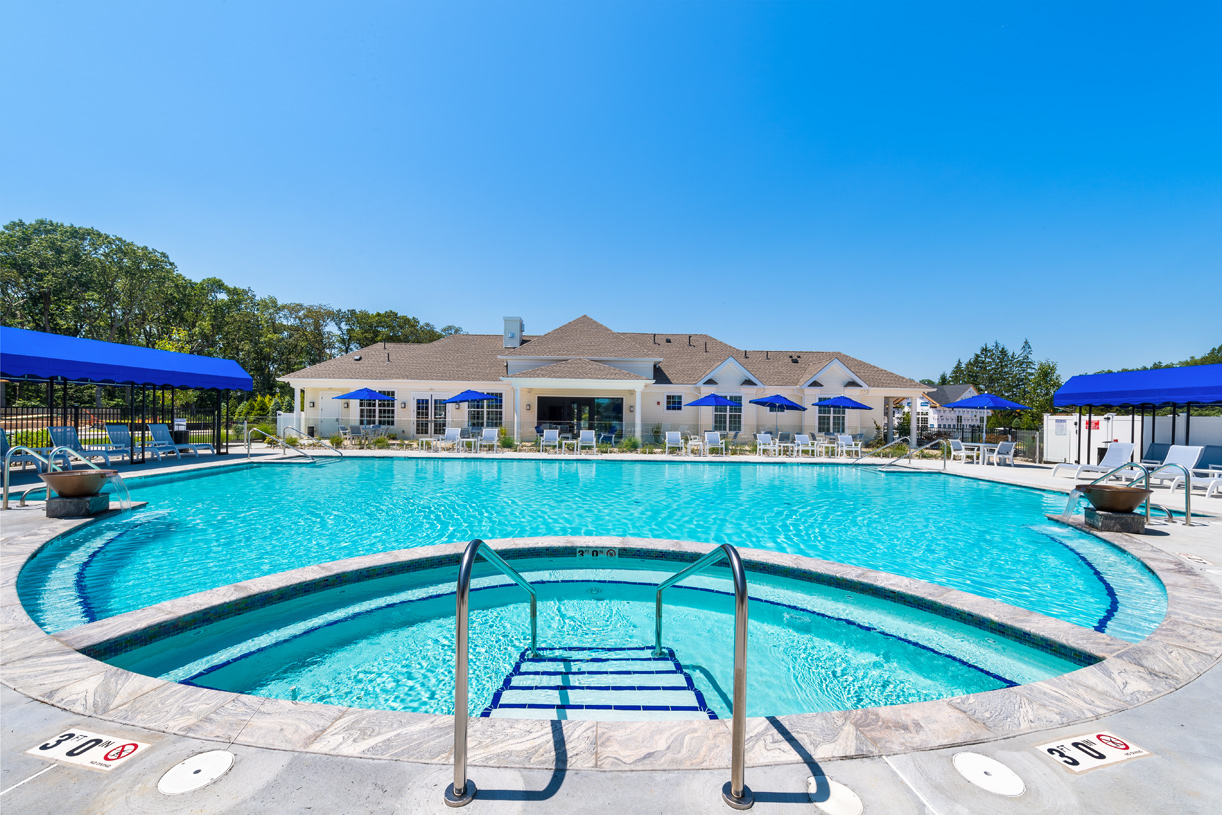 Summer days will be spent enjoying all of the amenities at your community clubhouse