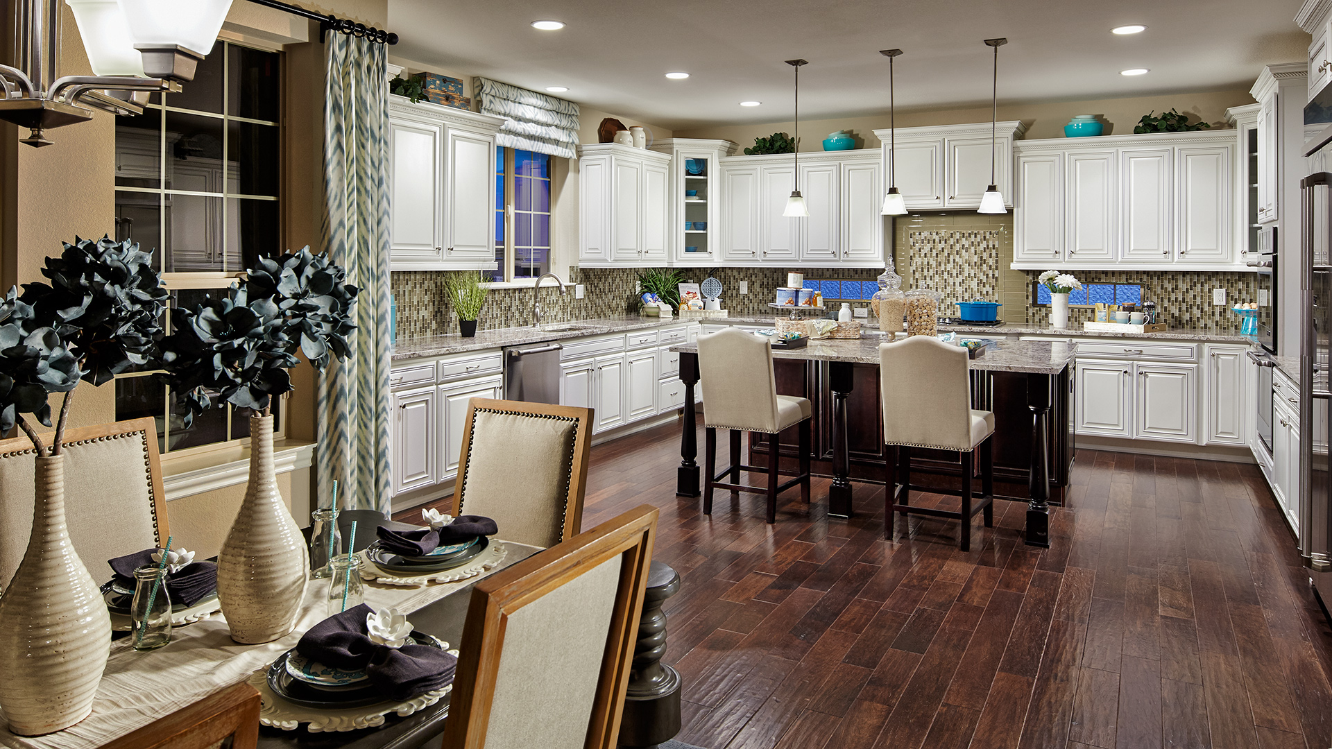 The gourmet kitchen of the Bella is a dream come true.