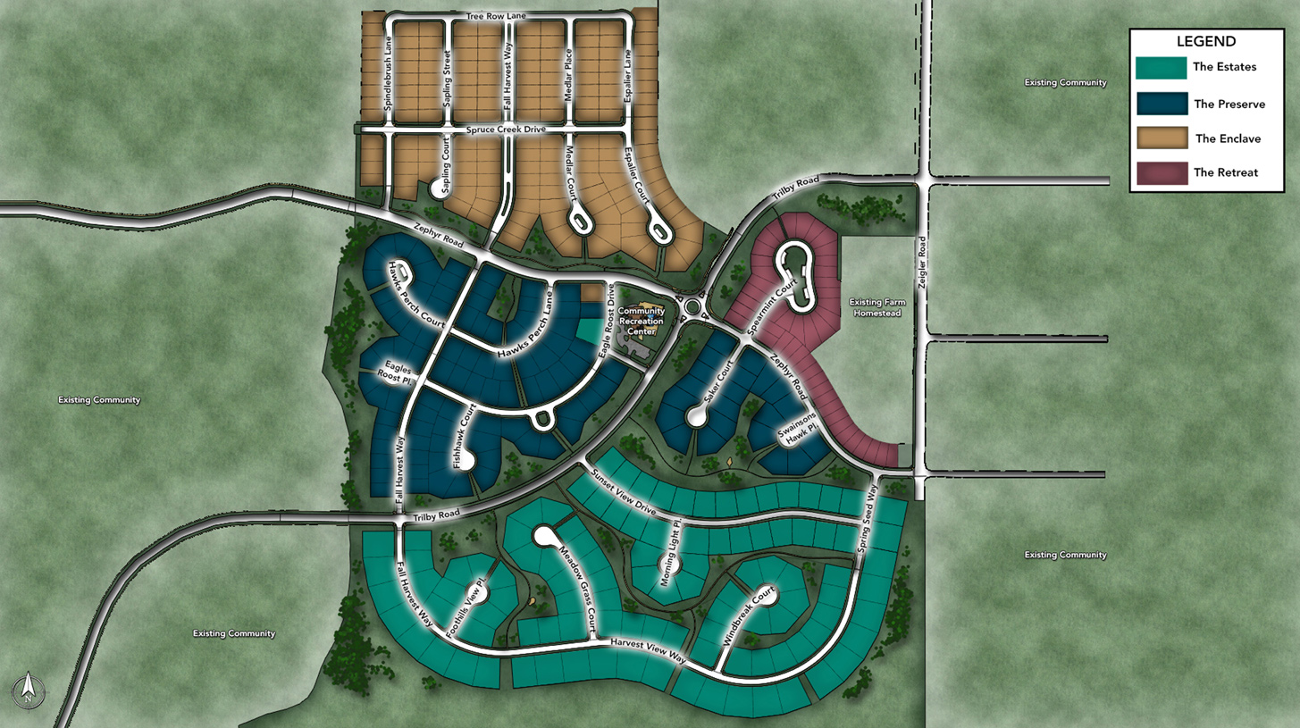The Estates at Kechter Farm Overall Site Plan