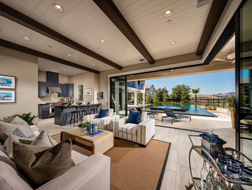 Iron Oak Showcases Grand Outdoor Living Spaces With California Rooms,  Outdoor Balconies, And Interior Courtyards.