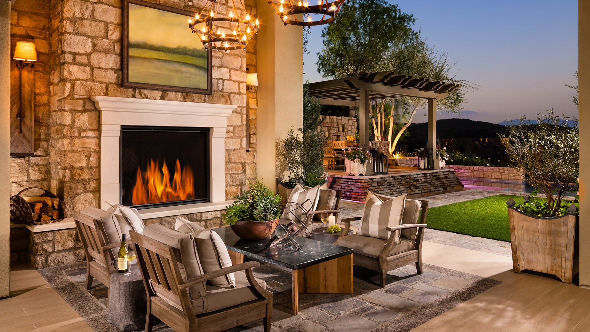 Danville CA New Homes for Sale | Iron Oak at Alamo Creek on Sequoia Outdoor Living id=12955