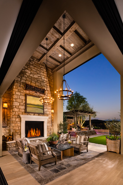 The Sequoia Home Design Offers Many Indoor/outdoor Living Spaces For True California  Living!