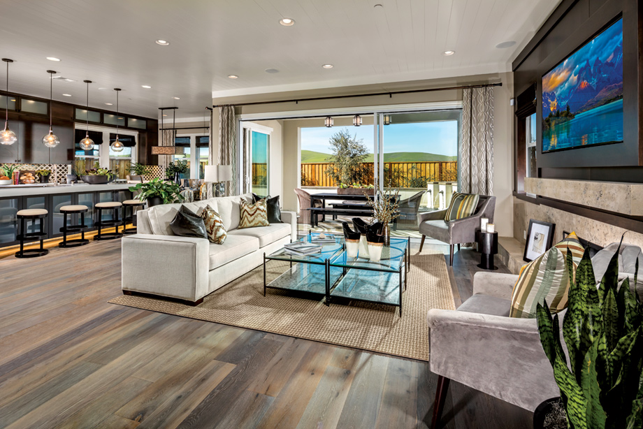 Loving This Open Concept By Tollbrothers: New Luxury Homes For Sale In San Ramon, CA