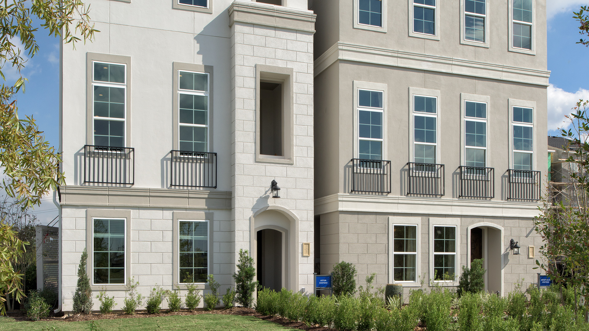 Aston Chateau and Abbeyville Chateau Professionally Decorated Model Homes - Somerset Green - Houston, TX