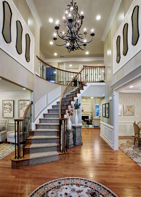 Homes With Two Story Foyer : New luxury homes for sale in canton ma the preserve at