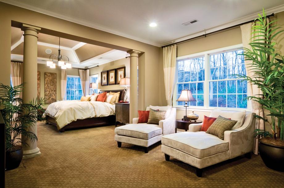 Master Bedroom Suite With Den