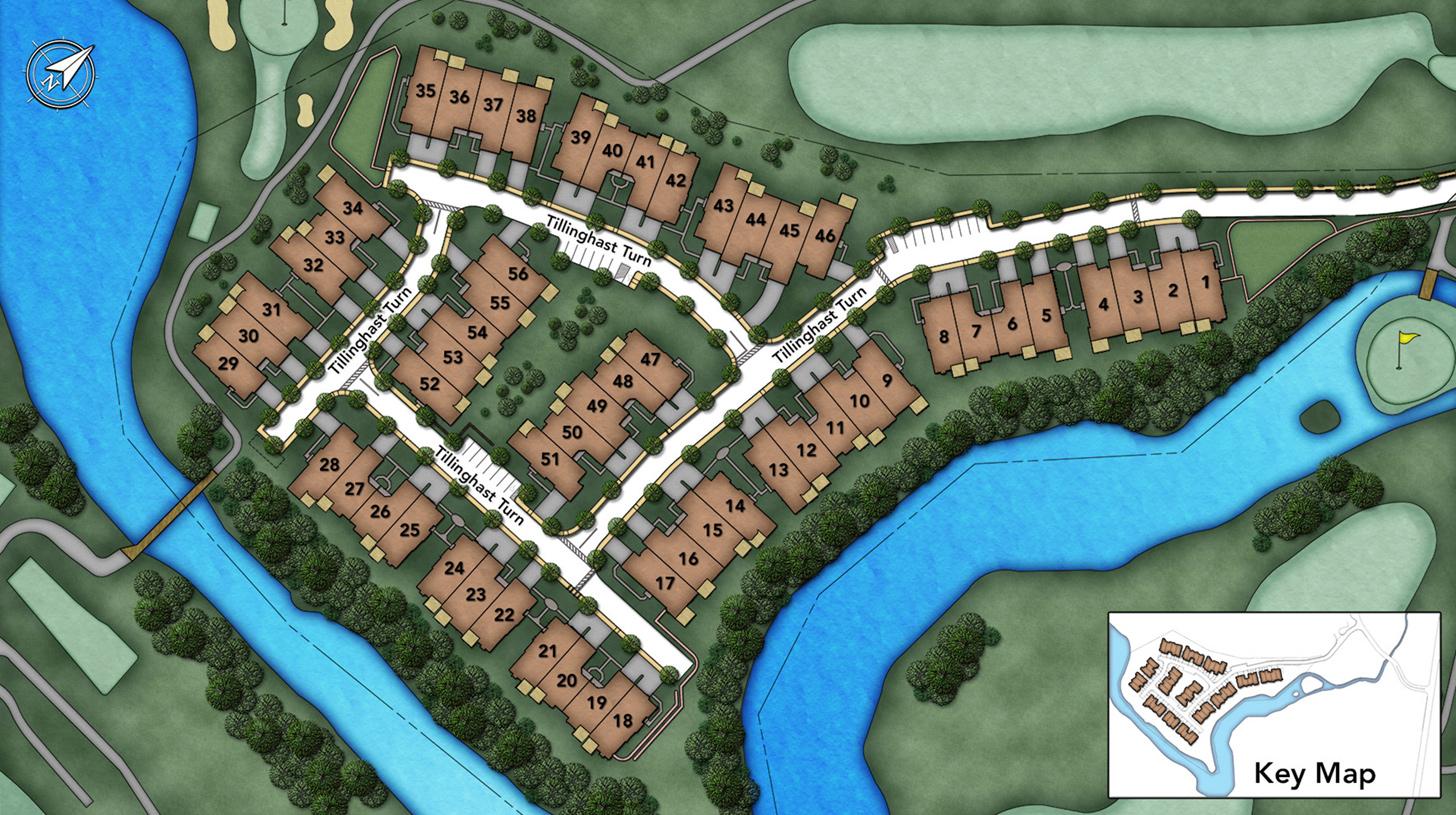 Enclave at Shackamaxon Site Plan