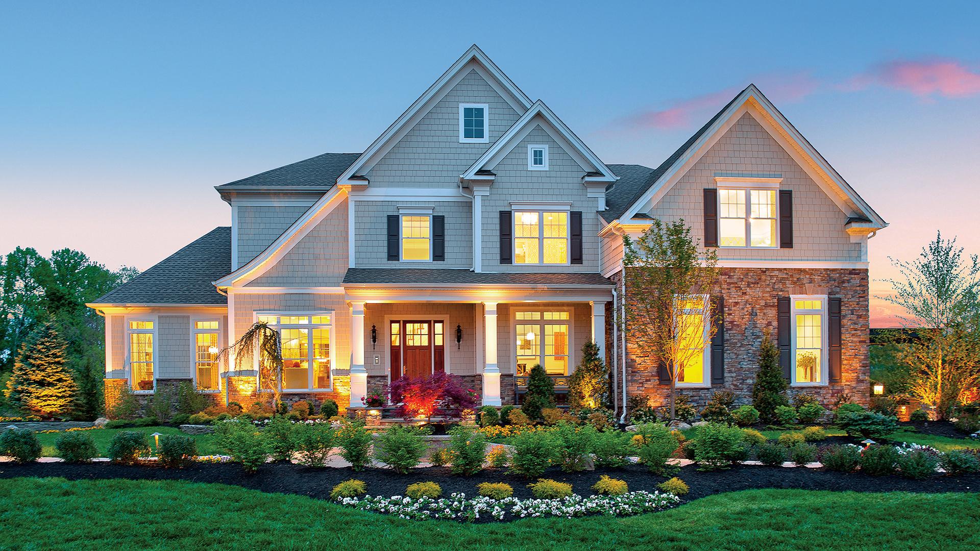 Hudson South Shore. Lincroft NJ New Homes for Sale   Estates at Bamm Hollow