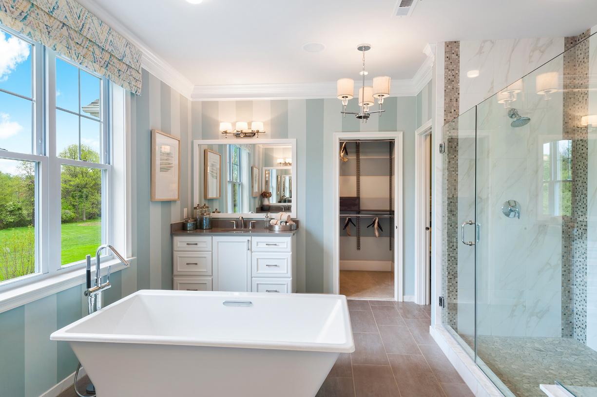 Hudson primary bath