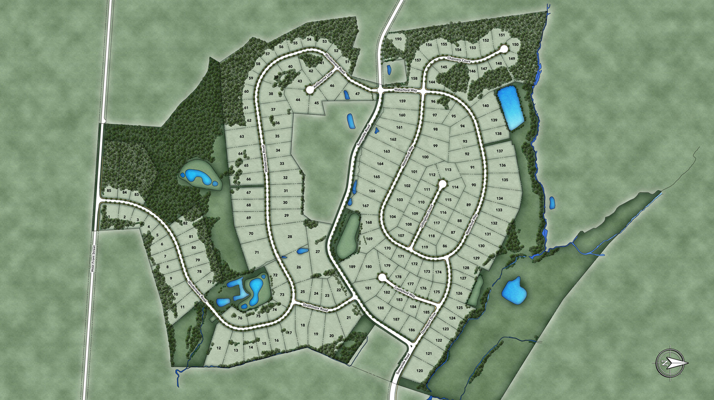Estates at Bamm Hollow Overall Site Plan