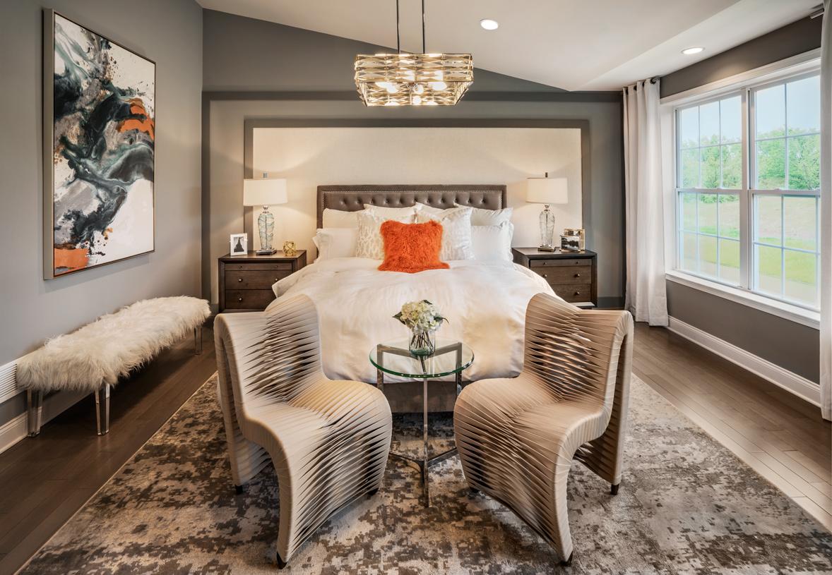 Alderman primary bedroom suite