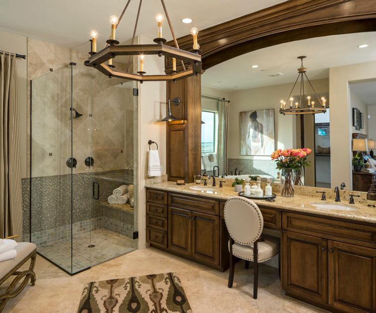 Marana az new homes for sale toll brothers at los saguaros for Model bathrooms photos