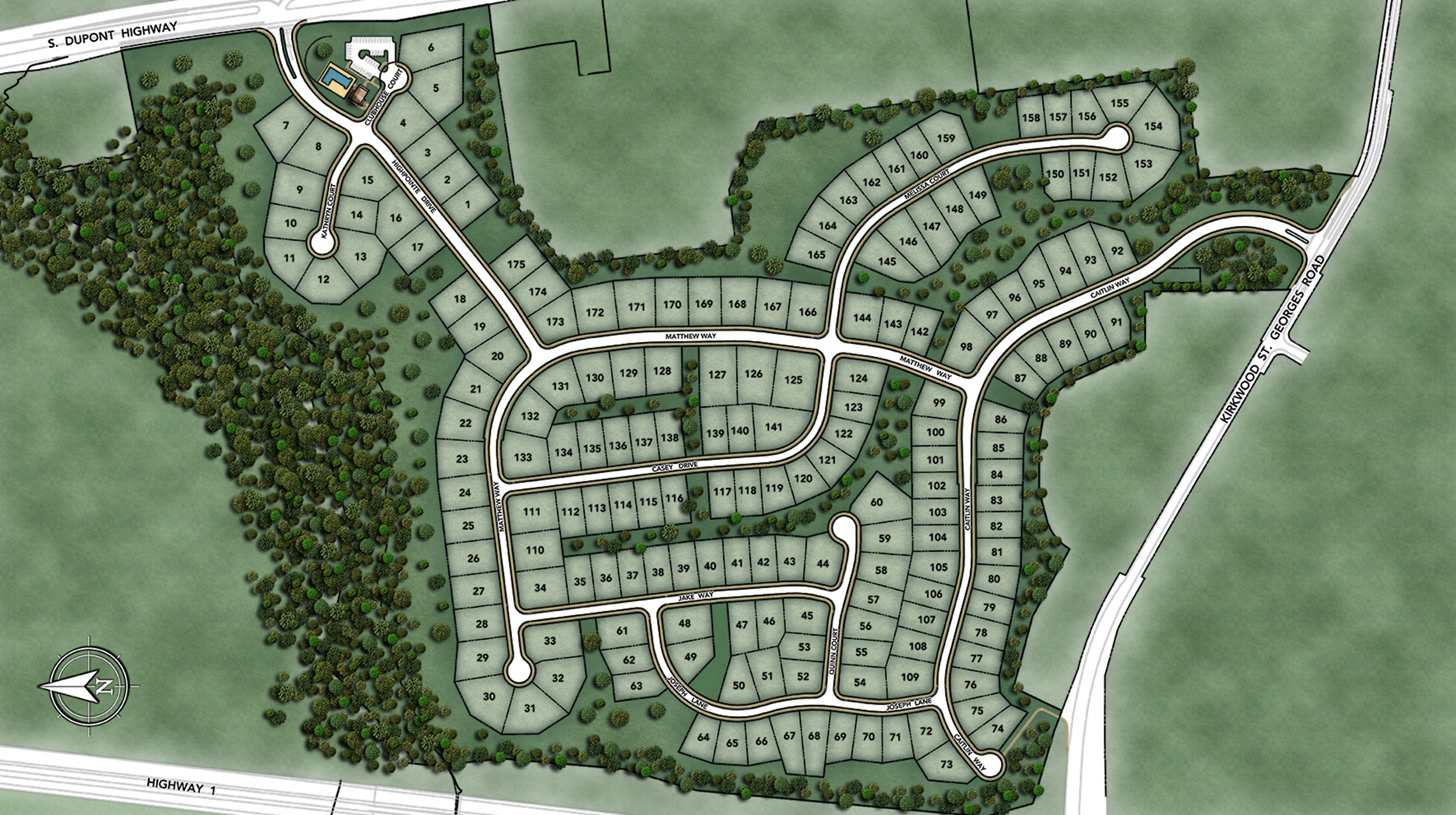 High Pointe at St. Georges Overall Site Plan