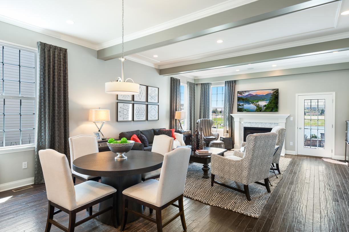 Cozy living spaces to enjoy with family and friends