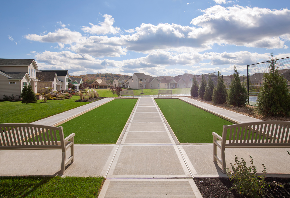 Bocce is the perfect way to spend a relaxing Saturday afternoon