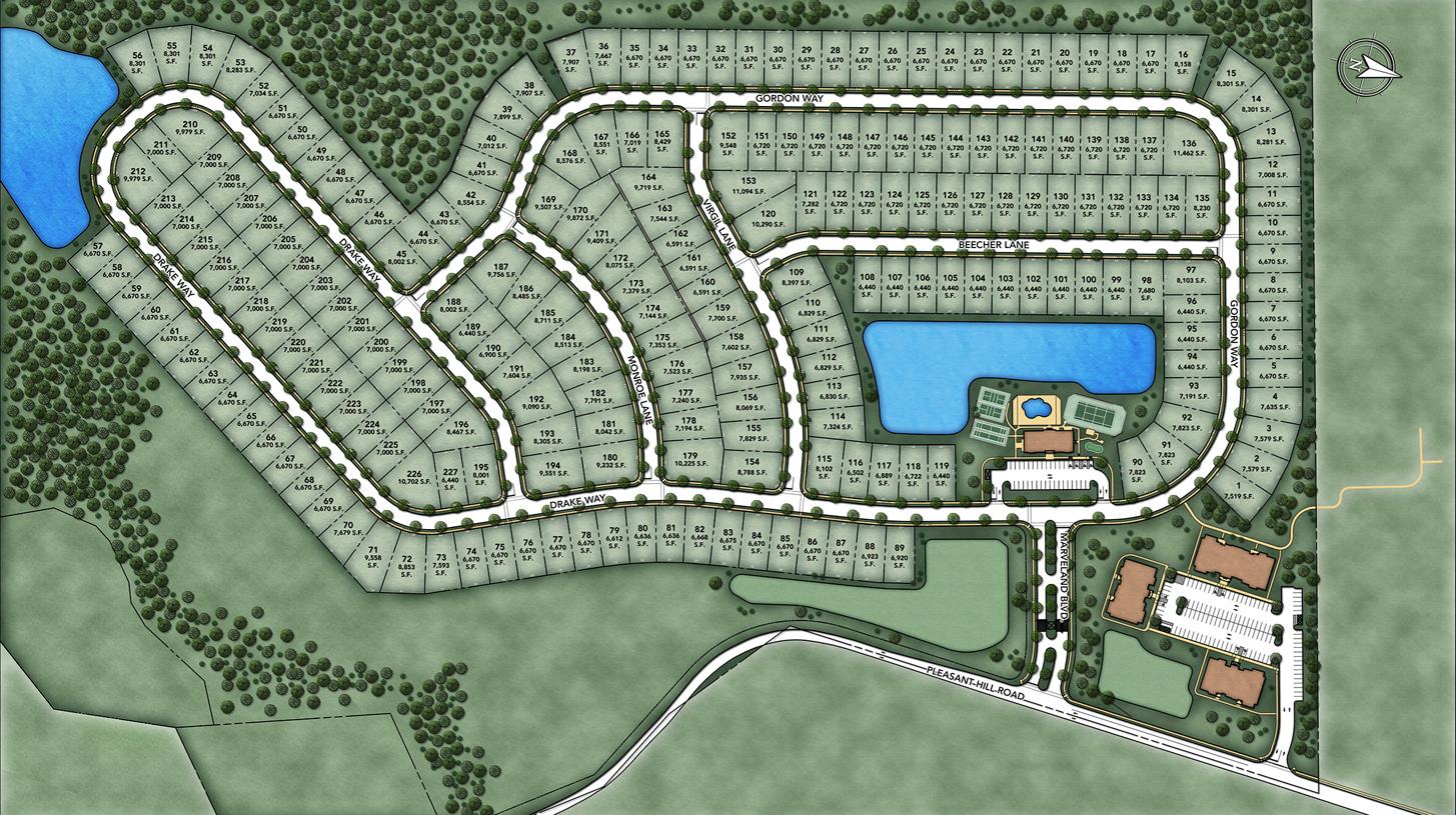 Regency at Flanders Overall Site Plan