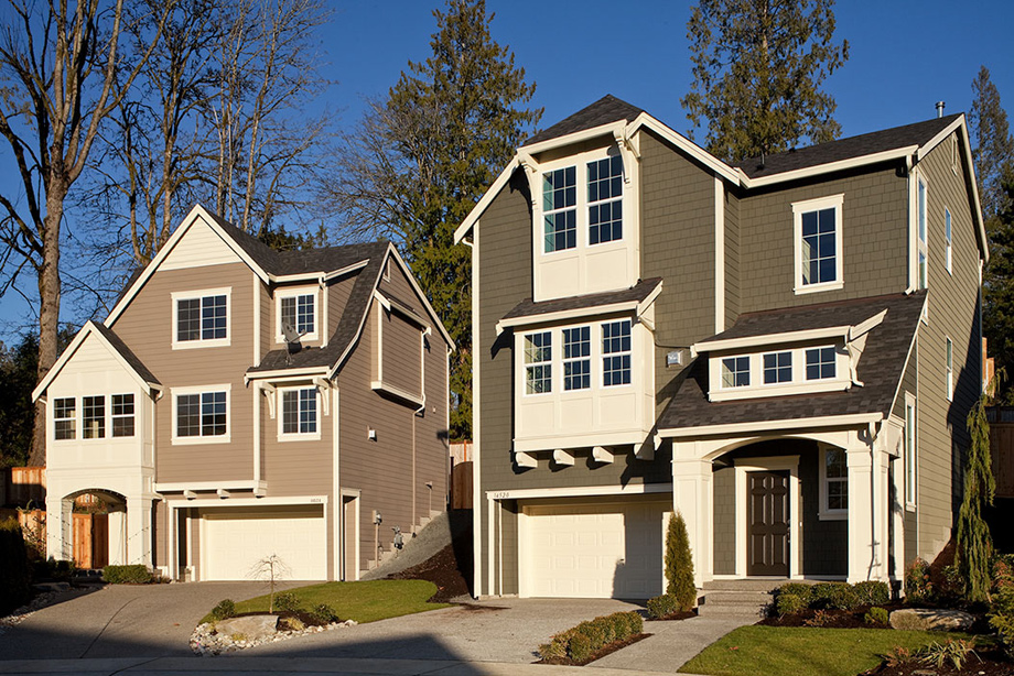 Bothell wa new homes for sale timber creek the bungalows for 3 story house