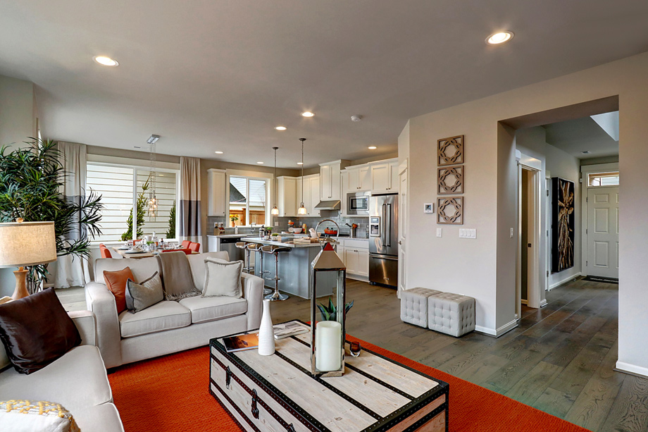 great home designs. The Courtyard Collection offers a variety of home designs with open great  rooms Bothell WA New Construction Homes Timber Creek Courtyards