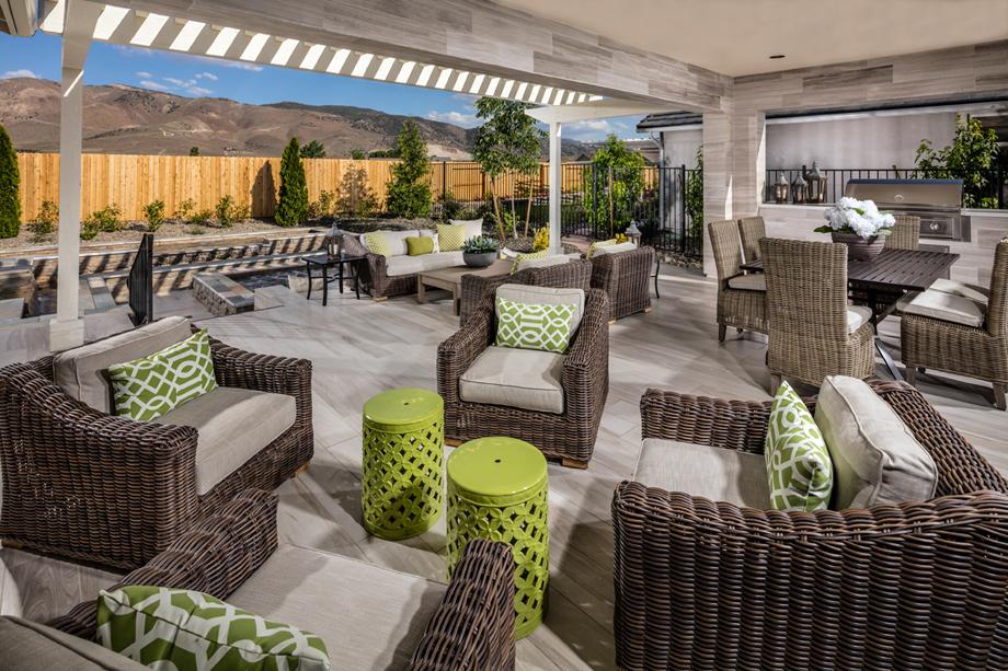 The Delmar Covered PatioReno NV Active Adult Community   Regency at Damonte Ranch  . Patio Home Designs. Home Design Ideas