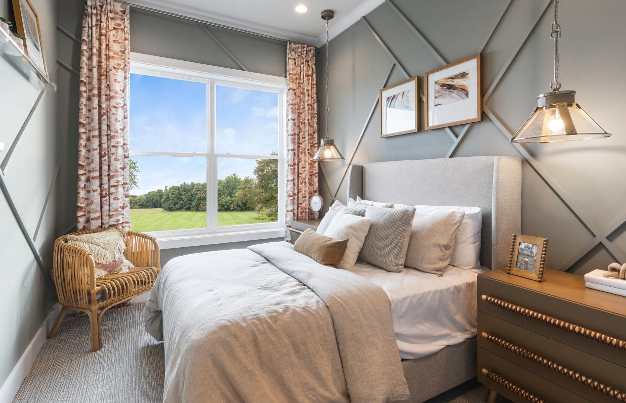 Options for convenient first-floor bedroom suites