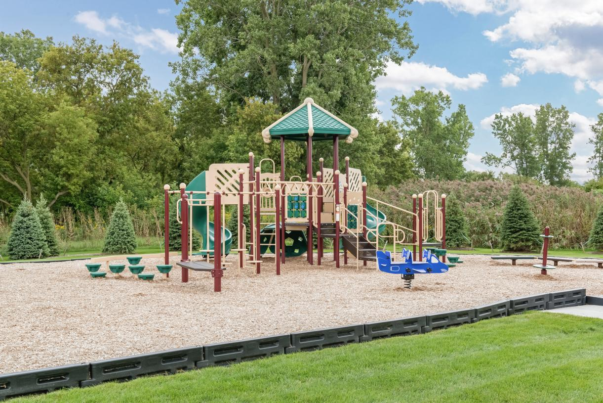 Children's play park at the clubhouse