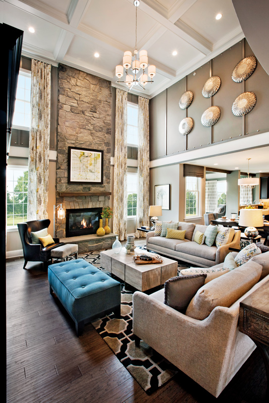 Stunning two-story great rooms