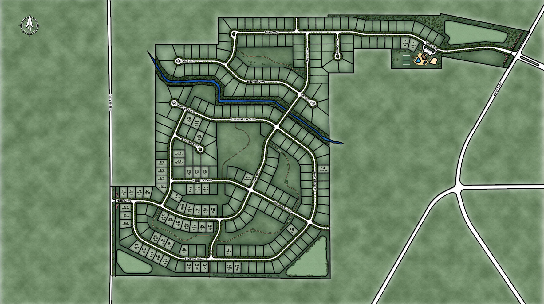 Westridge Estates of Canton Site Plan II