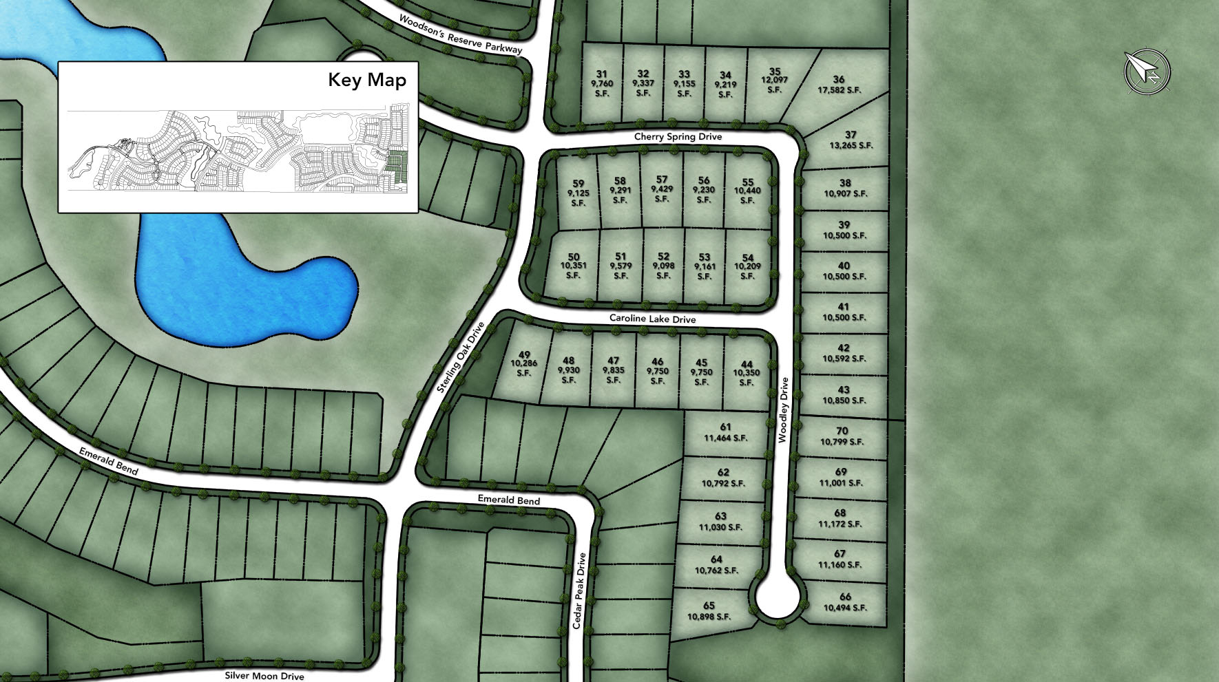 Woodson's Reserve - Executive Collection Site Plan I