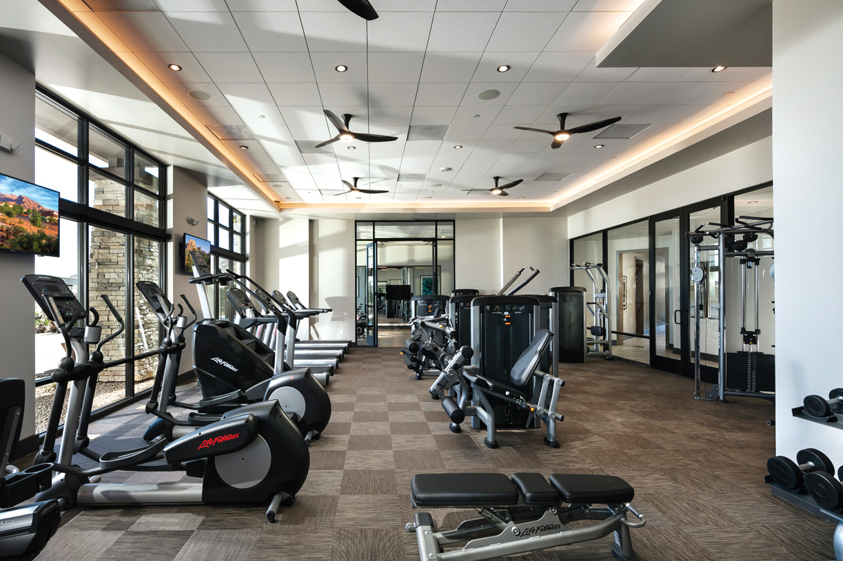 Regency at Summerlin Clubhouse fitness room