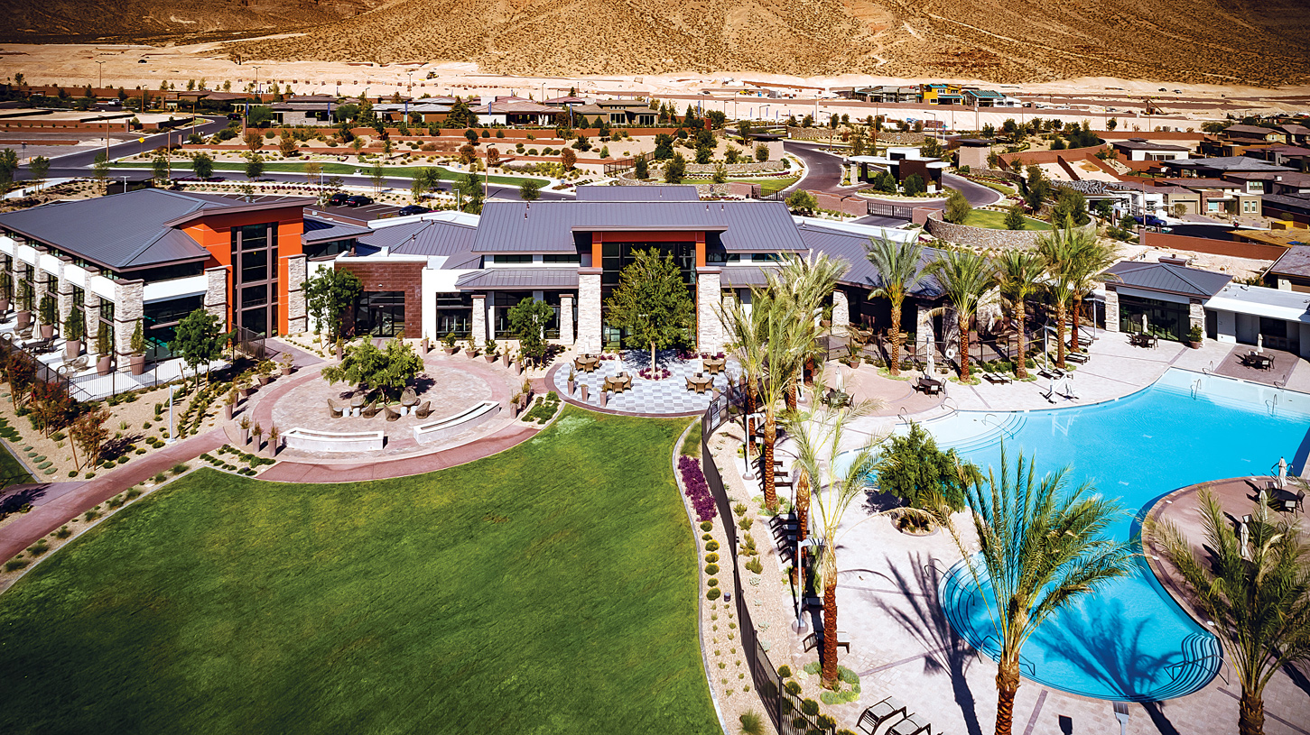 View of the Regency at Summerlin Clubhouse